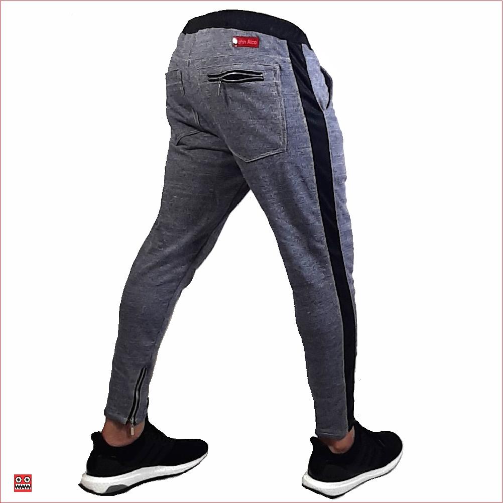 Sudadera ref 1568 2 DESCRIPCION Sudadera jogger color gris oscuro, tela 98% algodon mas 2% de expande. $67 mil