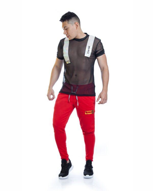 ref 1738 1 camiseta maya dinamica , material maya en 97% poliester + 3% Spandex Tallas S-M-L. $57.000.