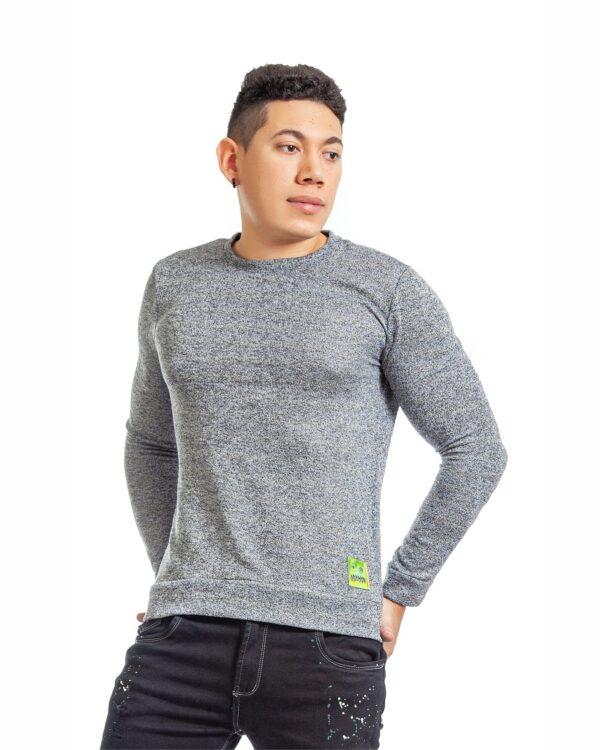 ref 1755 0 buzo gris tejido, tela en algodón 80% + 18% poliéster + 2% Spandex. Tallas S-M-L-XL. $72.000.