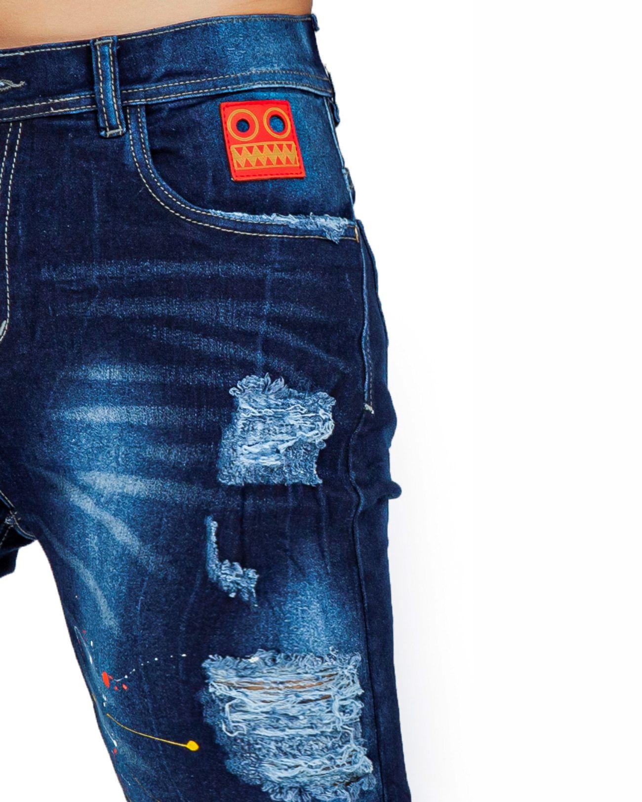 ref 1768 3 bermuda azul plomo, tela jean en algodon 70% + 2% expande +poliester 28%. talla 26 28 30 32 34 36 $70.000