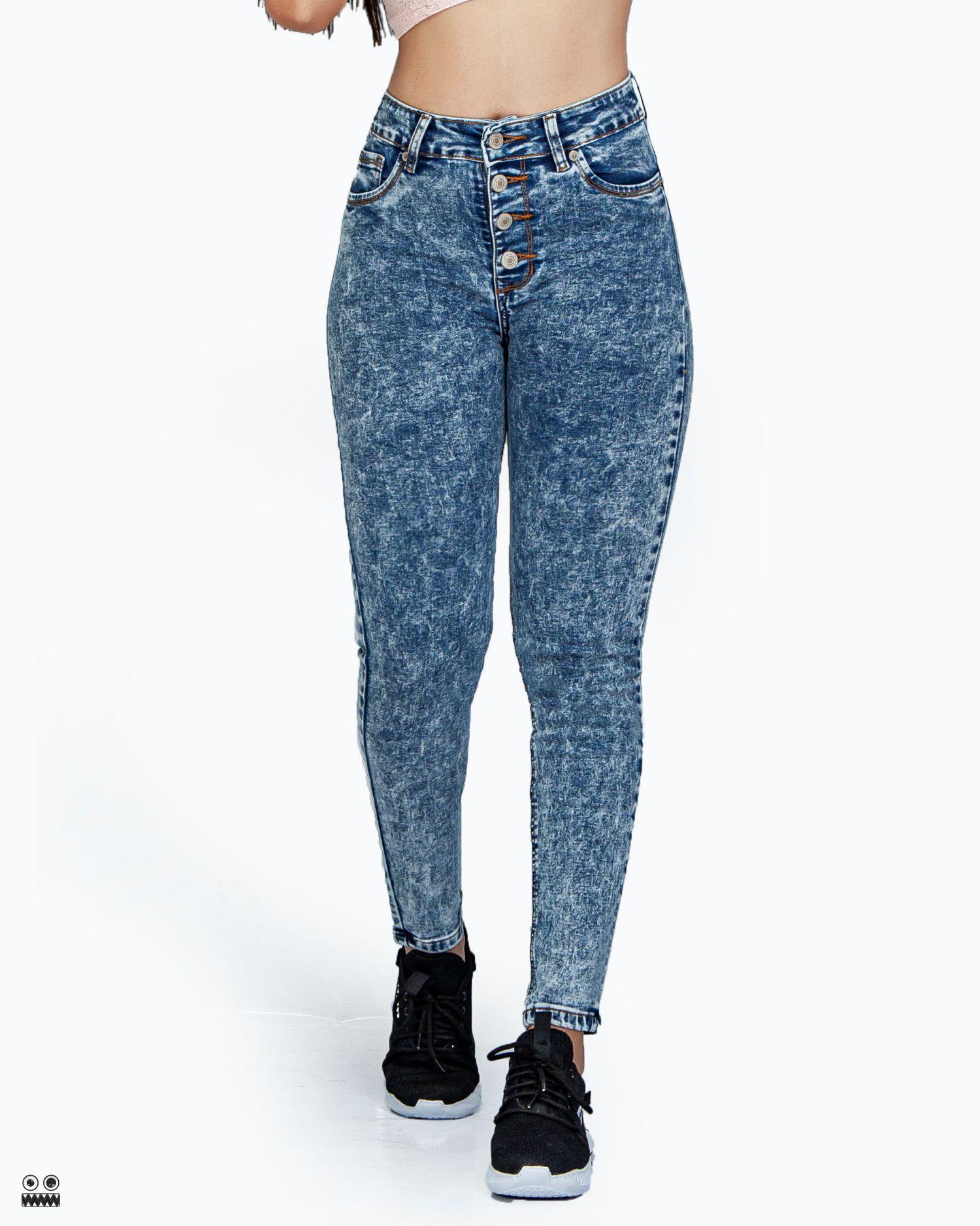 REF 1772 3 Jean froster, tela jean en algodon 98% + 2% expande. talla 4 6 8 10 12 14 $95.000